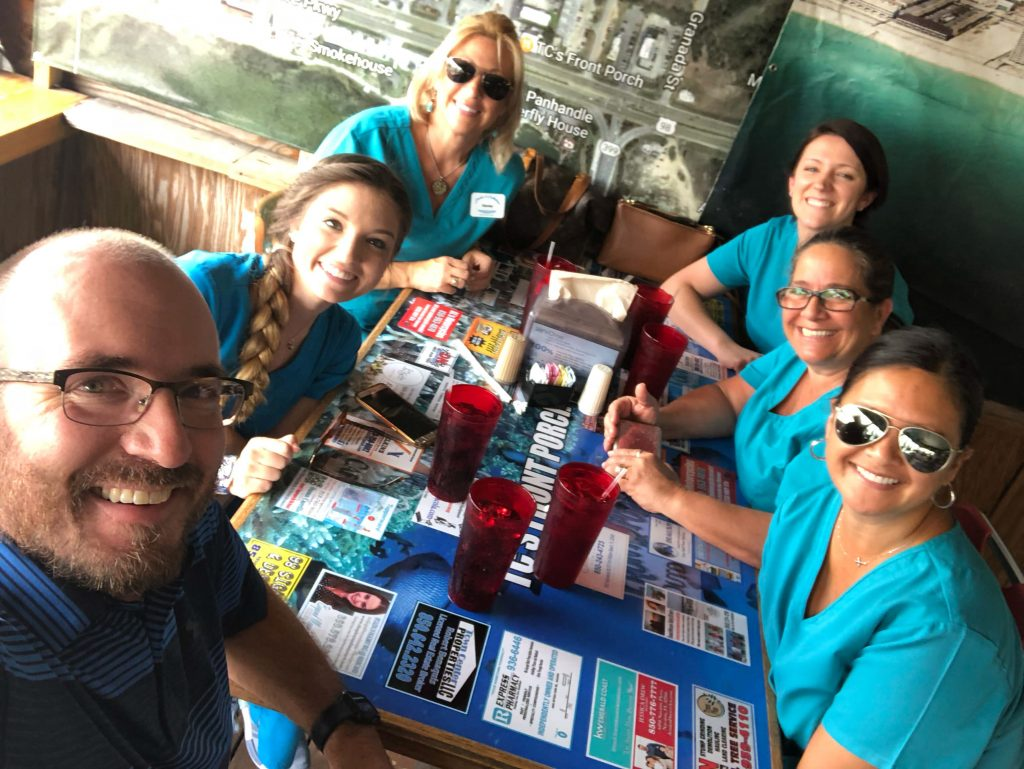 navarre-florida-top-lunch-recommendation-orthodontic-staff-at-shehee-and-callahan-family-orthodontics