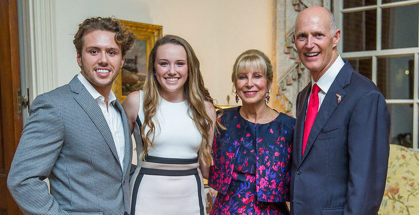 Sage-Offutt-2016-Young-Entreneur-Award-Recipient-With-Florida-Governor-Rick-Scott-And-First-Lady-Ann-Scott