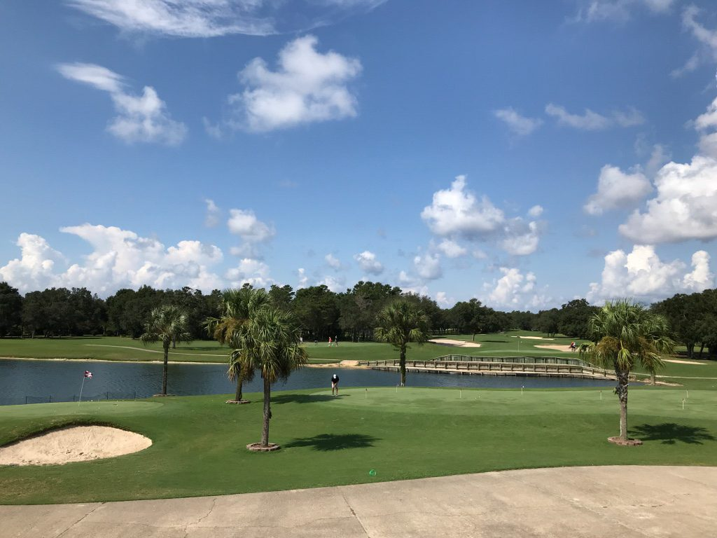 Shehee-&-Callahan-Orthodontists-Top-Golf-Courses-near-Navarre-FL-Hidden-Creek-Golf-Club-View-From-Clubhouse